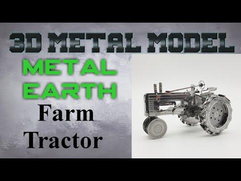 Metal Earth Build - Farm Tractor