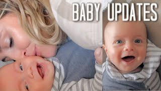 4 Month Baby Update! (Mom DITL Vlogs)