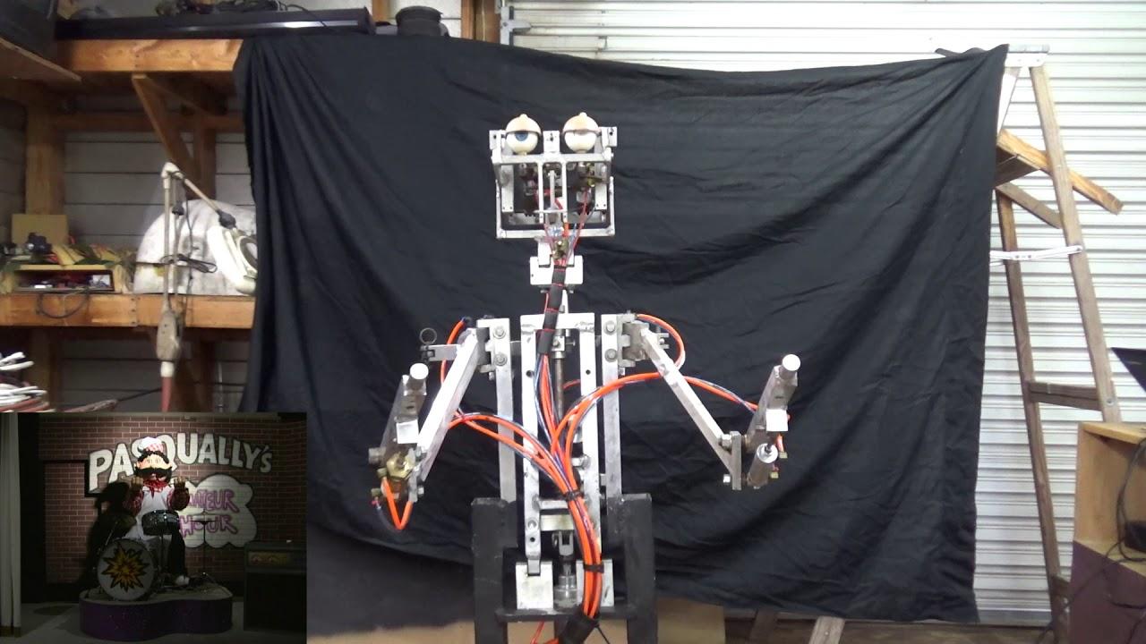 Pasqually Diagnostics Endoskeleton Test - Chuck E Cheese ...   Chuck E Cheese Animatronics Endoskeleton
