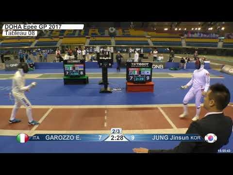 2018 387 M E Individual Doha QAT GP T08 04 red JUNG KOR vs GAROZZO ITA
