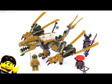 LEGO Ninjago Legacy Golden Dragon review 🐲 70666