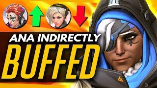 Video Overwatch | Ana Indirectly BUFFED! - Moira Patch Winners & Losers download MP3, 3GP, MP4, WEBM, AVI, FLV November 2017