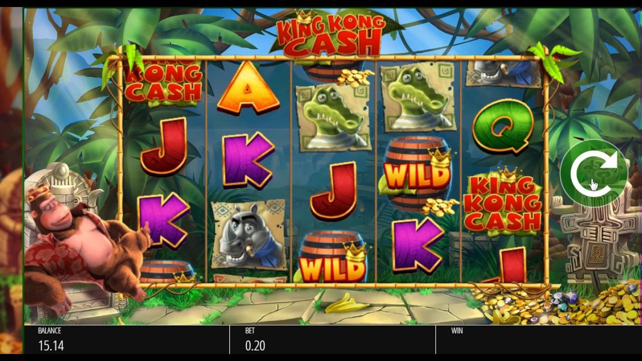 King kong cash slot machine online