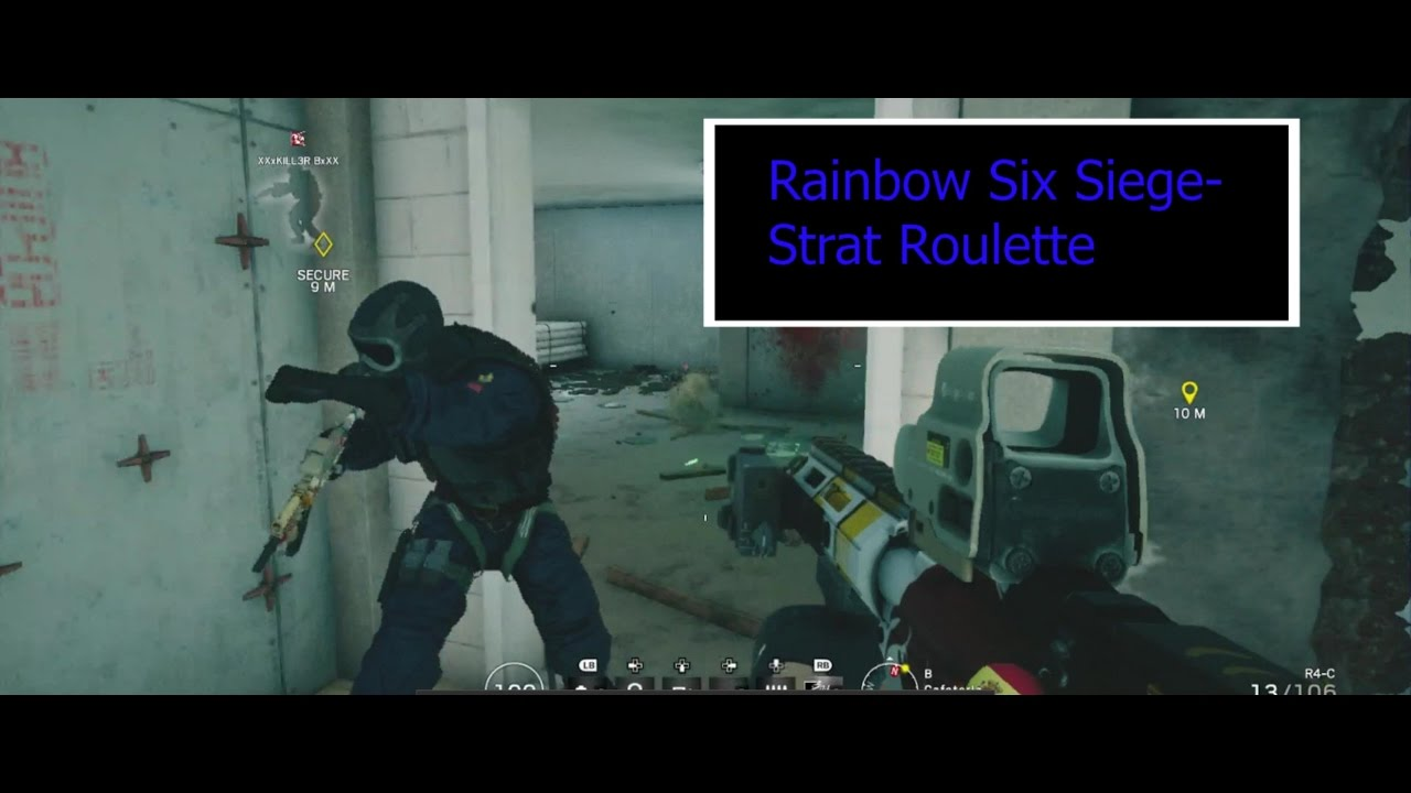 strat roulette in rainbow six siege youtube. Black Bedroom Furniture Sets. Home Design Ideas