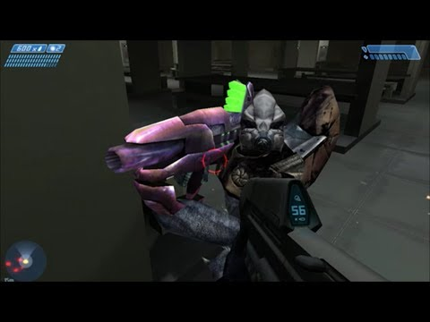 Halo 1 - Playing As A Fuel Rod Grunt