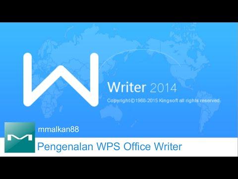 Pengenalan [Tutorial] Kingsoft Office Writer [WPS Office Writer]
