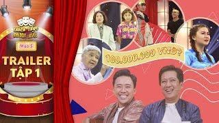 Thách thức danh hài 5| trailer tập 1: Hé lộ tiết mục gây sốc vì ẳm trọn 100 triệu ngay tập đầu tiên?