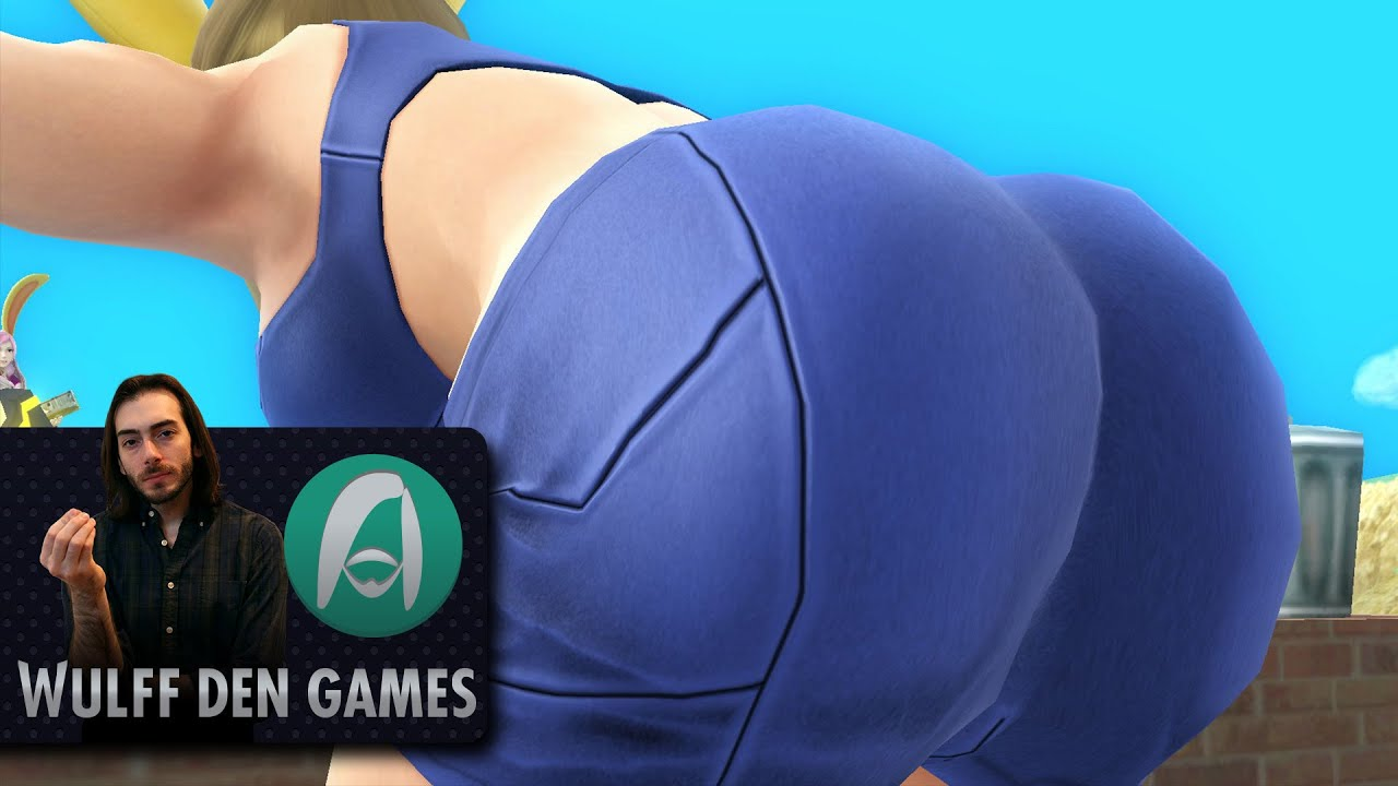 the actual top 5 best butts in video games youtube. Black Bedroom Furniture Sets. Home Design Ideas