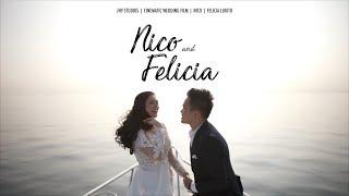 NICO & FELICIA Wedding in Jakarta | Sameday Edit Video