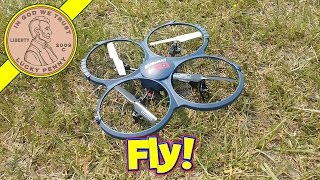 Discovery HD Upgrade Quadcopter U818A-1 - Let