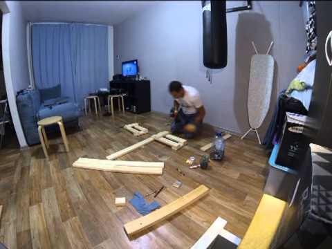 видео: Лавочка скамейка своими руками