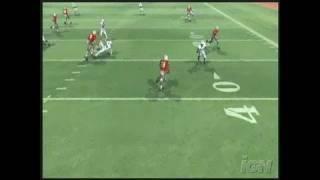 NCAA Football 08  PlayStation 2 Gameplay -
