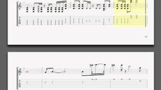 Metallica Turn The Page Kirk Guitar Tablature
