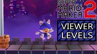 🔴 Live - Super Mario Maker 2   Send your levels! #18
