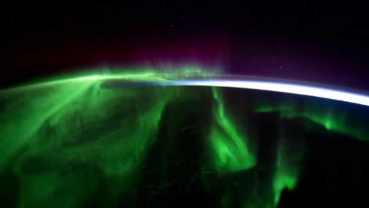 Polarlichter Faszinierende Aufnahmen aus dem All