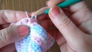Крючок для начинающих  Детские носочки крючком  Видео урок 4