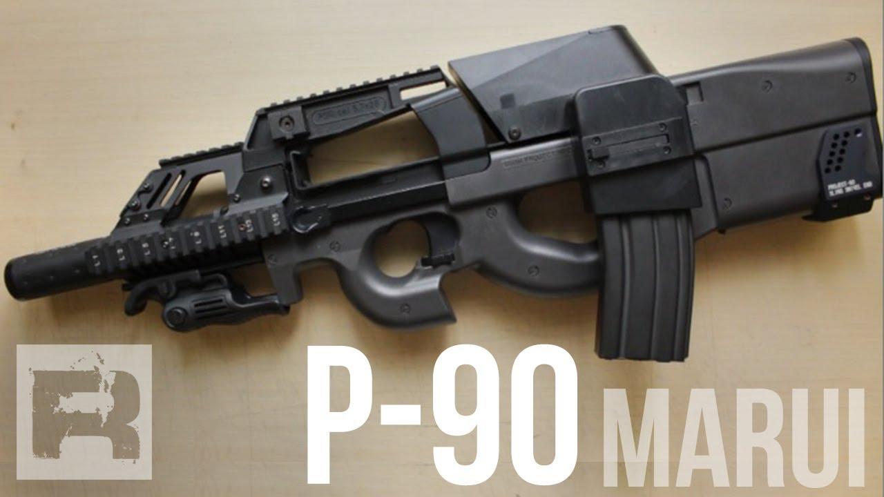 P90 TR - Tokyo Marui Custom - YouTube M14 Wallpaper