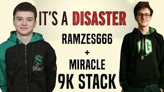 dota 2 ramzes666 miracle two 9000 players in same stack ty volvo