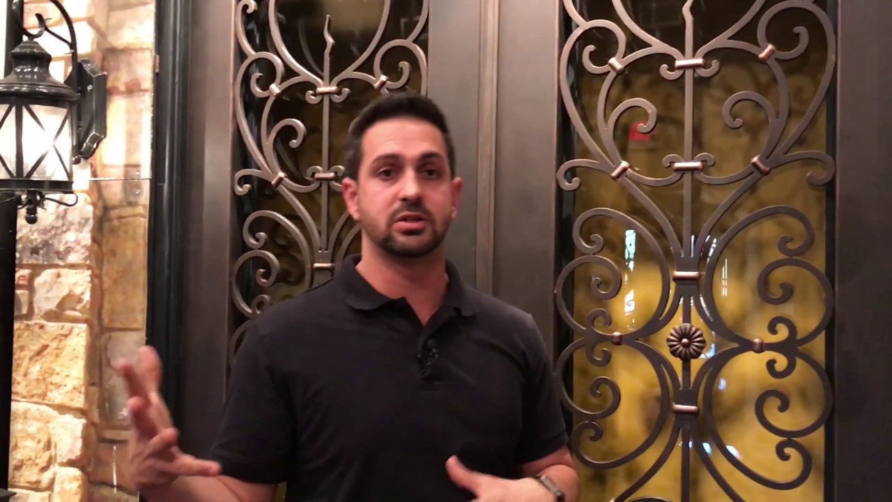 Tuscan Iron Entries Energy Star Rated Ornamental Iron Doors Youtube