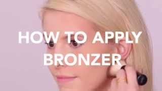 How To: Apply Bronzer for a Warm Glow