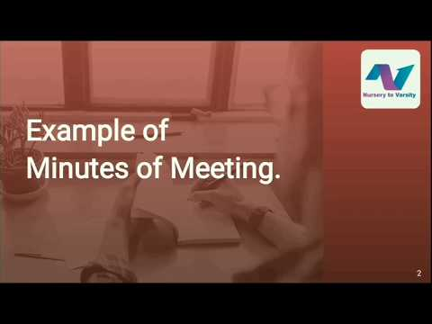 minutes-of-meeting-sample-|-business-writing-course-|-free-online-course