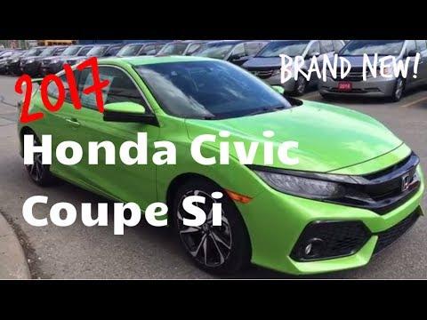 Brand New 2017 Honda Civic Coupe Si   WHITBY OSHAWA HONDA   Stock #: H1029