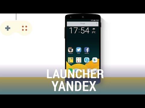 Vật Vờ| Yandex Launcher: nhẹ nhàng, tiện lợi khi sử dụng