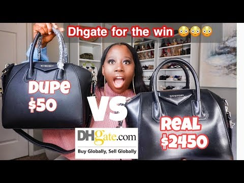Dhgate Dupe Designer Bags Review 2019 A Must Watch Youtube