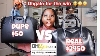 DHGATE DUPE DESIGNER BAGS REVIEW 2019 || *** A MUST WATCH***