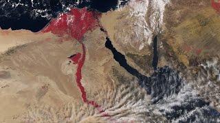 Coraz więcej rzek nacałym świecie przybiera krwistą barwę
