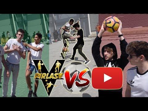 PirlasV vs YOUTUBERS - 2 VS 2 Challenge e 3 VS 3 Challenge