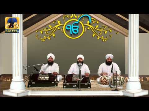 Fateh Tv    Bhai Tarandeep Singh Ji    Nirgun Raakh Liya Satan Ka Sadka    HD