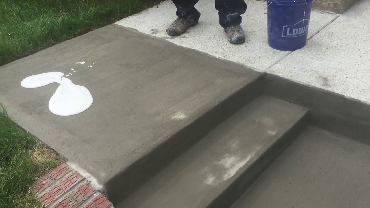 How To Easily Resurface Steps Concrete And Cement Work Contractor