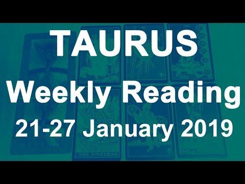 taurus weekly 21 to 27 tarot