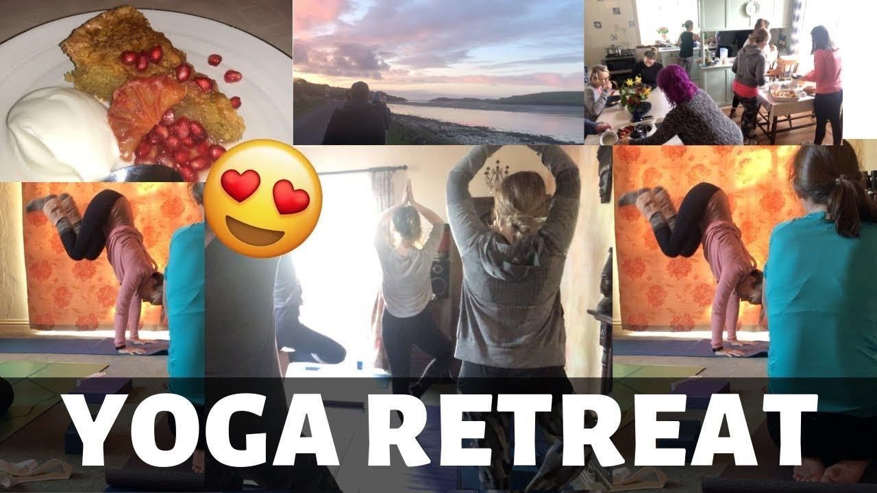 Vlog 23 Yoga Retreat In Ireland Yoga With Alma Lorraine Bradley Lilly Higgins Youtube