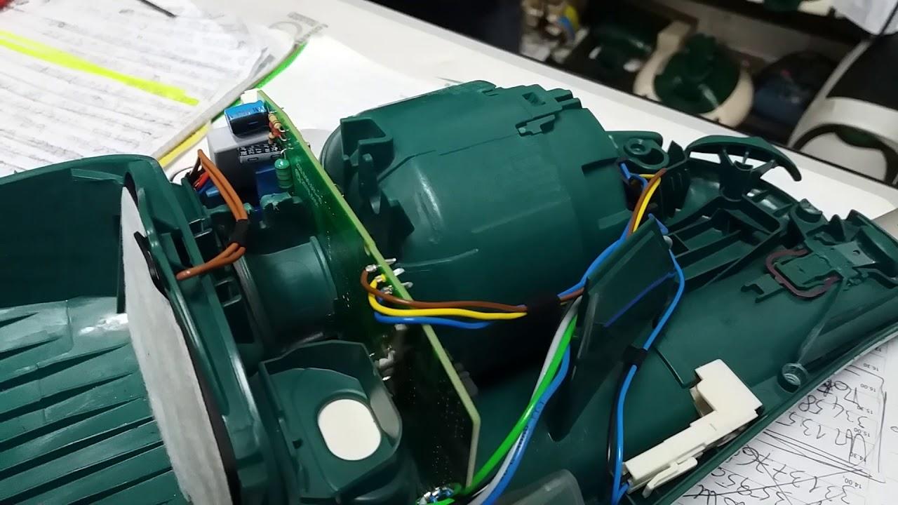 Motore Folletto Vk 150.Montaggio Perfetto Del Motore Folletto Effettuato Dal Tecnico Specializzato