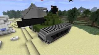 Repeat youtube video Minecraft Build-Off Tag Team - Tank Challenge