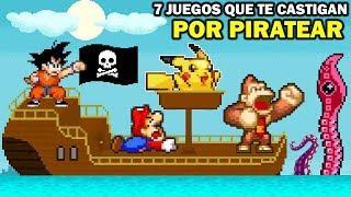7 Videojuegos que te Castigan por Piratear