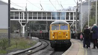Class 56312 Screams out of Shipley On 6Z34 with Mega Clag and Tones