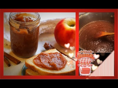 ~ Homemade Old Fashioned Spiced Apple Butter~