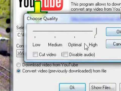 Tutorial Youtube Downloader Converter MP3 AVI