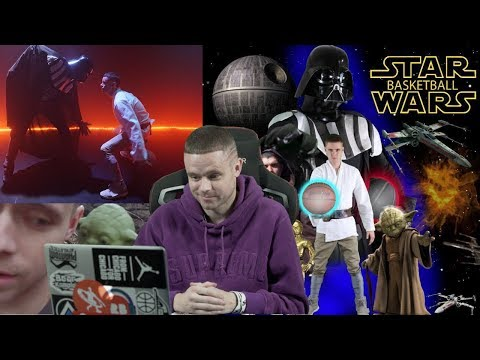 Professor Reacts to Most Cringe Video He Ever Made.. Star Wars Basketball