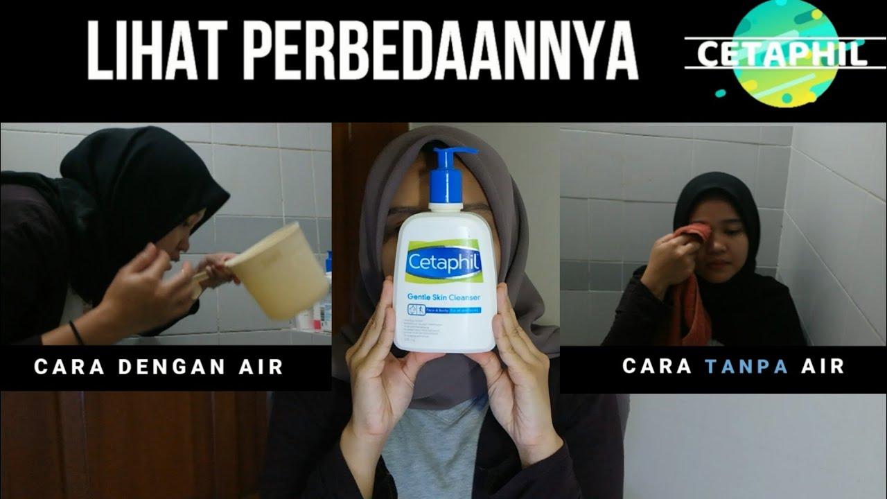2 Cara Menggunakan Cetaphil Cetaphill Facial Wash Review Apaiyaapaengga Skincare Youtube