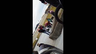 Crazy lady trys to leave her kid at the skatepark