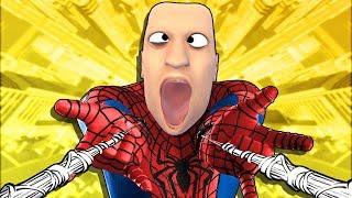 Became Spider-Man, Stole a Car & Drove Off a Bridge - Mosh Pit Simulator VR 🕷