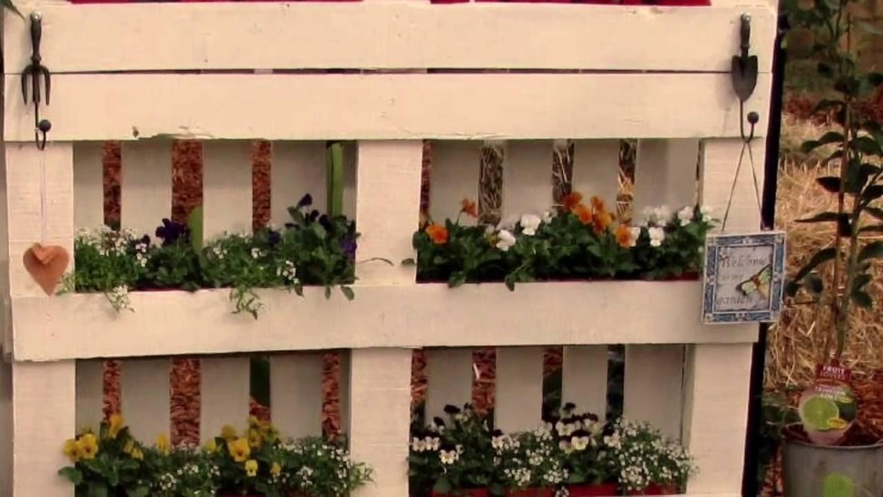 Cercados y vallas hechos con palets youtube - Plantas para vallas ...
