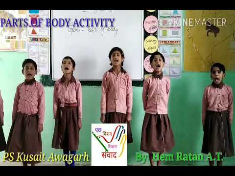 Parts Of body Activity