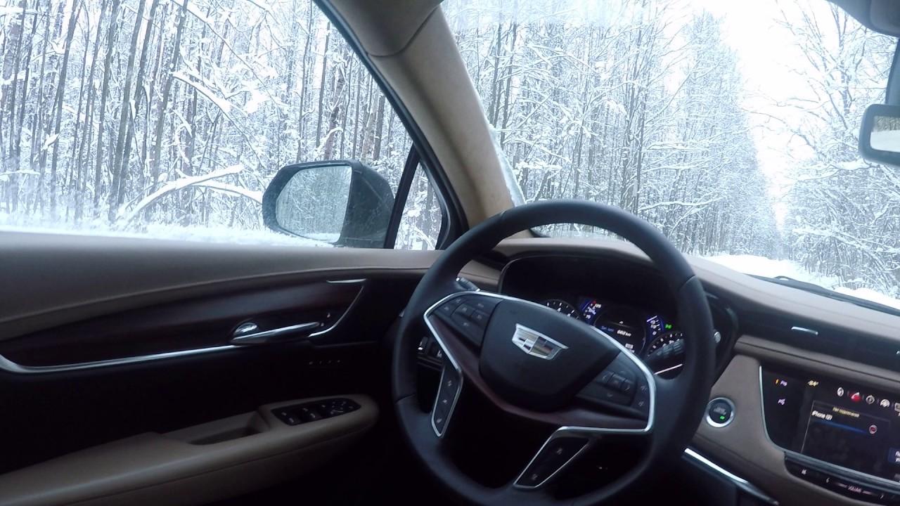 Кадиллак/Cadillac XT5. Блогерам его пока не давали)