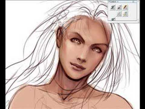 Digital Paint Face Tutorial
