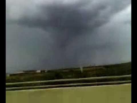Tornado en laredo, tx
